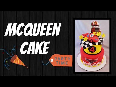 Mcqueen's cake /pastel de rayo McQueen