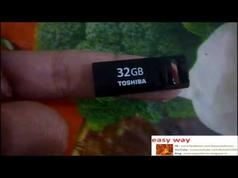 Ultra Mini 32 GB Pendrive, TOSHIBA.
