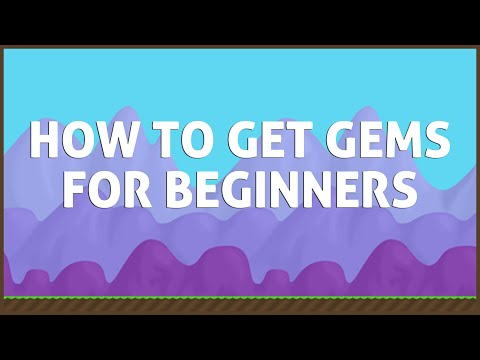 Growtopia | How To Earn Gems Fast For Beginners