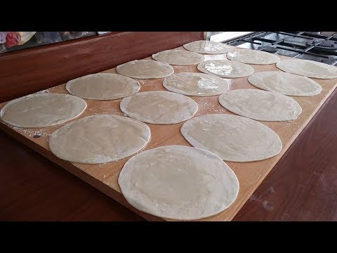 Samosa and Spring Roll Patti | Homemade Spring Roll Sheet | Food Street Style Manda Patti-