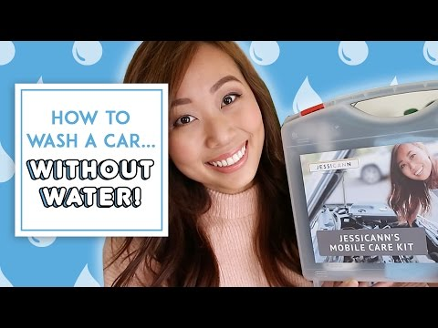 HOW TO WASH YOUR CAR...WITHOUT WATER!