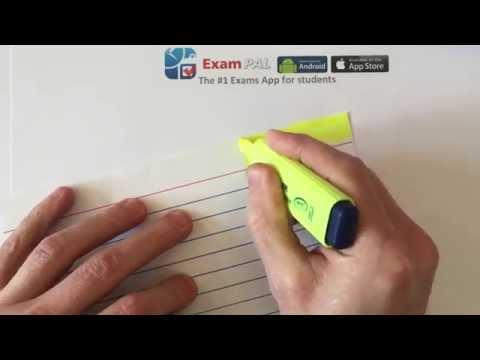 Revision Skills by Exam Pal - Creating a Revision FLASH CARD