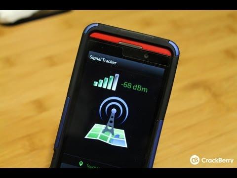 Signal Tracker for BlackBerry 10