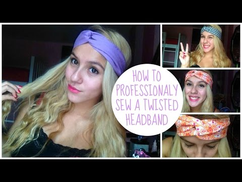 How to professionally make a Twisted Headband | Priscilla Marie