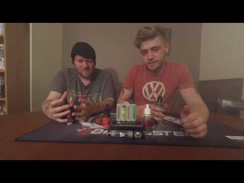 Reece And Stu Review - Mary Jane Fresh Melon Punch and Burst my Bubble Tropical Mint.