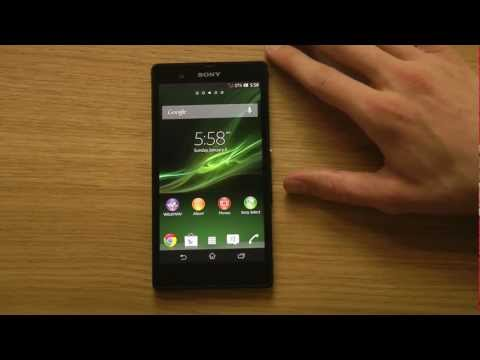 Sony Xperia Z Tips & Tricks Episode 1: How To Insert Sim Card