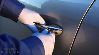 How To Open Mercedes Door With Spare Key Key Fob Not Working Smart Ke