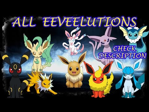 Eeveelutions All Forms Robloxproject Pokemon