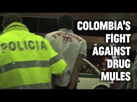 Inside Colombia S Fight Against Drug Mules