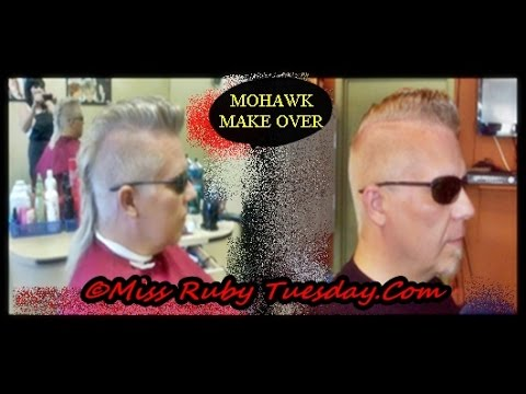 Miss Ruby Tuesday-  Mohawk Makeover