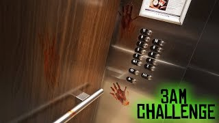 we played the elevator game... (bad idea) // ELEVATOR RITUAL SUMMONS GHOST GIRL!