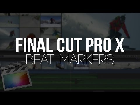 Final Cut Pro X - Adding Beat Markers (Tutorial)
