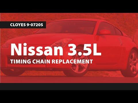 Nissan 3.5L Timing Replacment (350Z/Altima/Maxima/Murano/Quest/Rogue) Cloyes 9-0720S