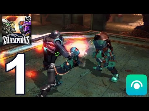 Xxx Mp4 Real Steel Robot Boxing Champions Gameplay Walkthrough Part 1 Region 1 IOS Android 3gp Sex
