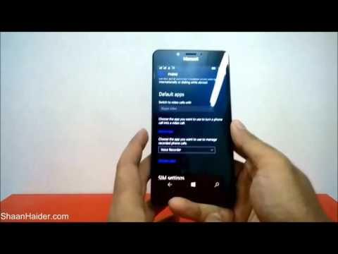 How to Record Phone Calls on Microsoft Lumia 950, 950 XL, 650, 550 or ANY Windows 10 Phone