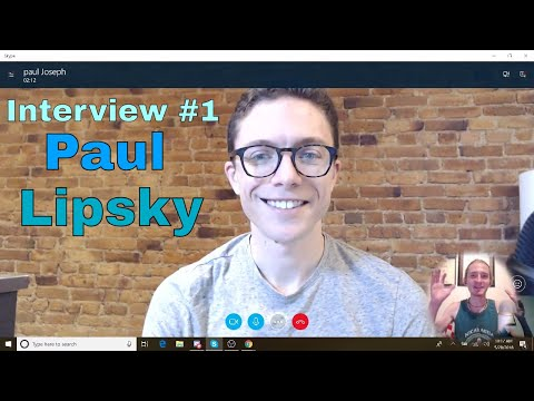 Interviewing Paul Lipsky About His Life Drop Shipping and YouTube