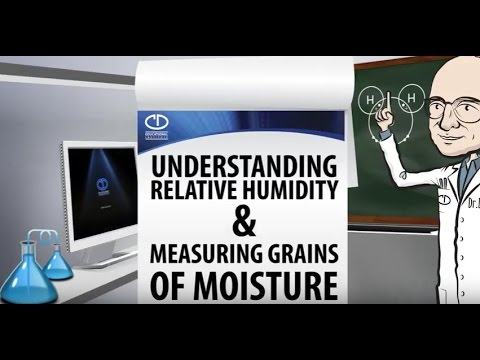 Science of Moisture in Air:  Understanding Relative Humidity and Measuring Grains of Moisture