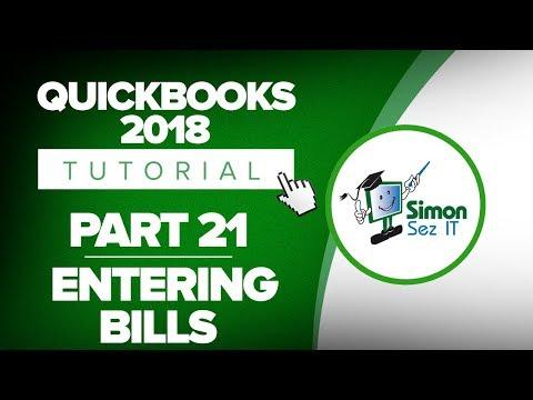 QB2018 YT 21 Entering Bills