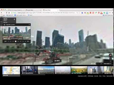 Google Maps: Using the Street View Time Machine