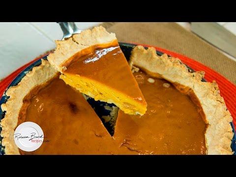 Organic Pumpkin Pie with Gluten Free Crust Recipe