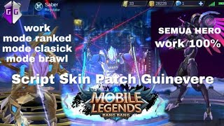 NEW HACK ALL SKIN MOBILE LEGEND NO LULUBOX NO ROOT   DRONE VIEW