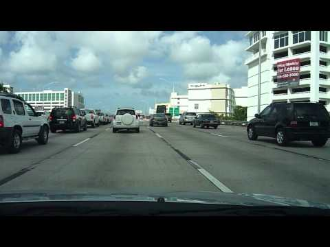 Driving from Key Largo to Miami Beach