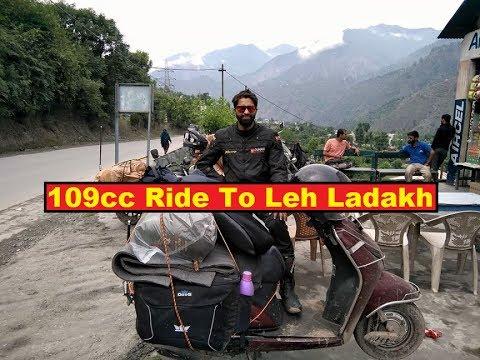 Leh Ladakh- Honda Activa(109cc) ride to Leh (DAY-1 & 2 )
