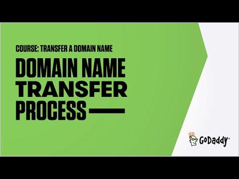 The Domain Name Transfer Process | GoDaddy