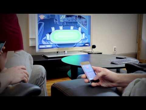 PokerFun Demonstration: An App for Google TV