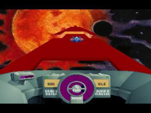 DOS Game: SkyRoads