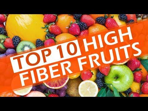 Top 10 Foods in High Fiber Fruits - Fruits Rich Fibre - The Best High-Fiber Foods