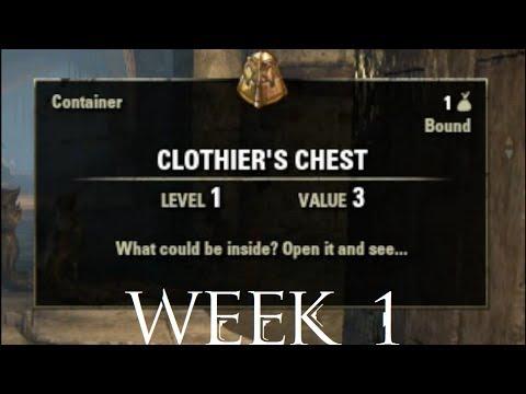 Clothing Hireling Week 1 Elder Scrolls Online
