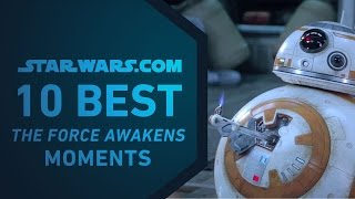 Best Star Wars: The Force Awakens Moments | The StarWars.com 10