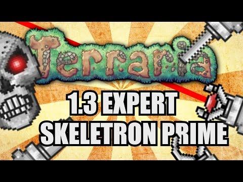 SKELETRON PRIME EASY KILL GUIDE! Terraria 1.3 Expert Solo