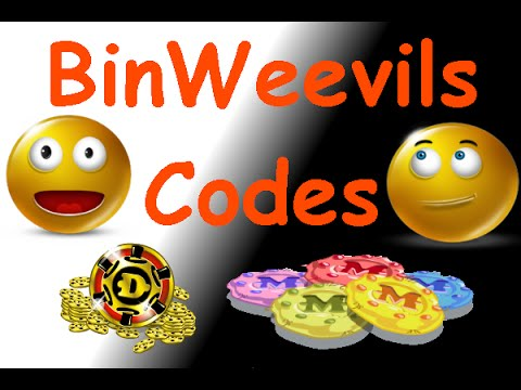 BinWeevils Codes - 15 Dosh + 1450 XP + 4250 Mulch - ALL WORKING CODES 2015/2016!