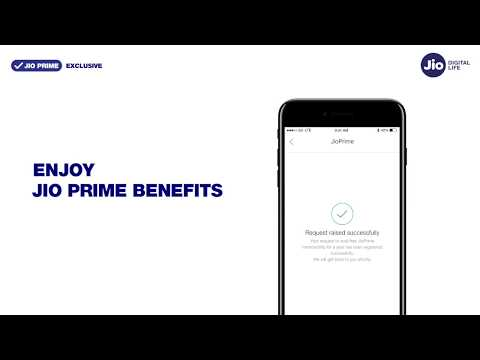 Jio Prime Extension