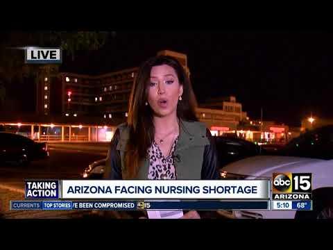 Arizona facing major nursing shortage