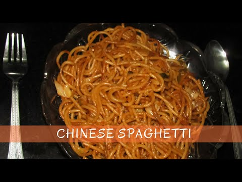 Chinese Spaghetti Recipe | Spaghetti Pasta | Easy to Make