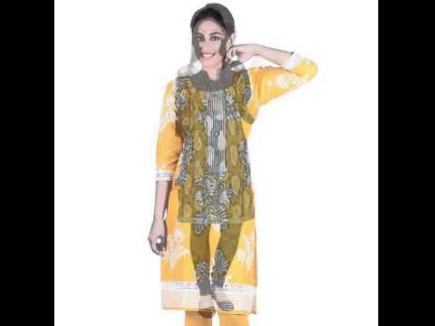 Online Salwar Suit Dress Material Women's - 2017   Latest Salwar Kameez   Indian Dress Material