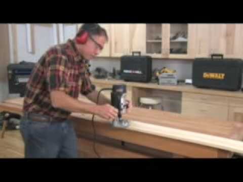 Handheld Router Use Presented by Woodcraft