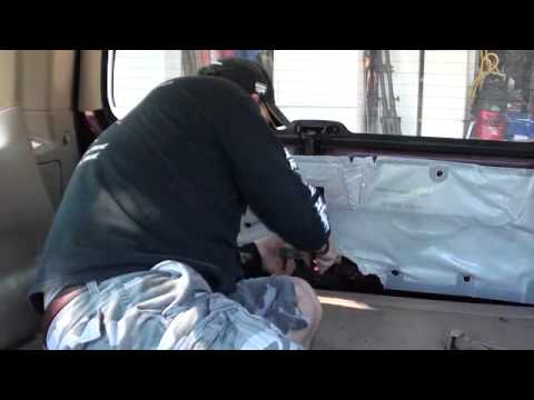 Ford Expedition Lift Gate Repair 1997 - 2000 Screw Ford and their 60 bucks! 15 cent zip tie works