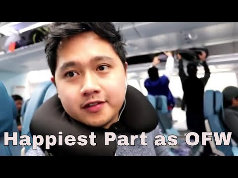 THE HAPPIEST PART AS OFW