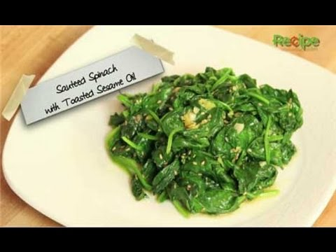 How to Make Sauteed Spinach with Sesame Oil