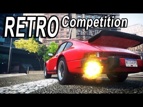 NFS Most Wanted 2 Retro Car Competition