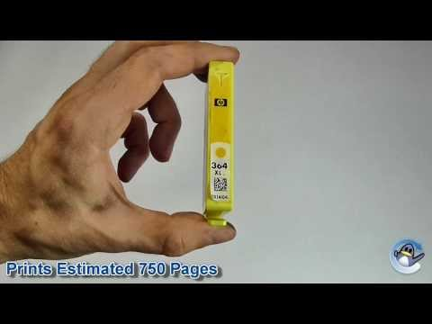 Inside HP 364XL Yellow (CB325EE) Vivera Ink Cartridge