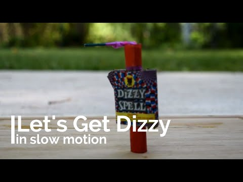 Dizzy Spell Firecracker in SLOW MOTION