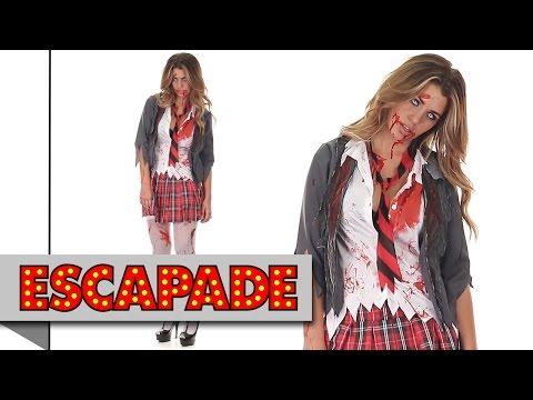 Zombie Schoolgirl Halloween Costume - Halloween Fancy Dress Costume Ideas