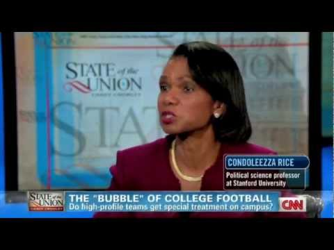 Condoleezza Rice on the State of the Union with Candy Crowley