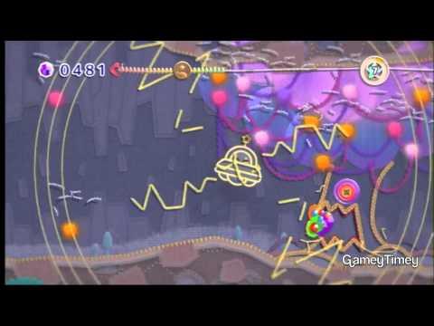 Kirby's Epic Yarn Secret Level Weird Woods 100% Walkthrough