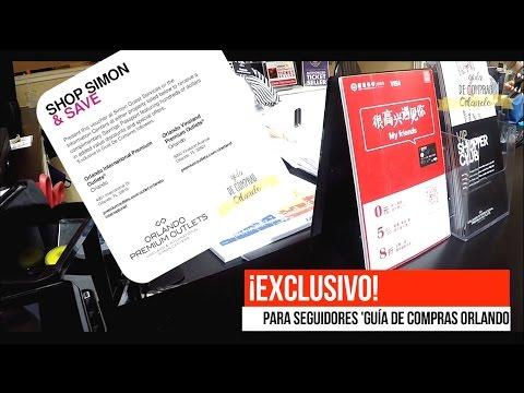 ORLANDO PREMIUM OUTLETS ® - INTERNATIONAL & VINELAND - CUPONES DE DESCUENTO